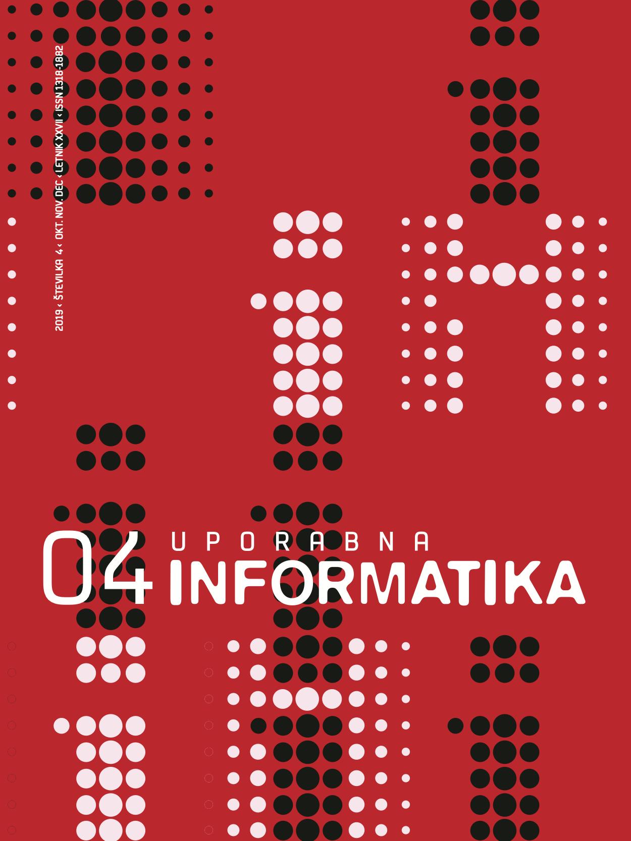 Poglej Letn. 27 Št. 4 (2019): Uporabna informatika