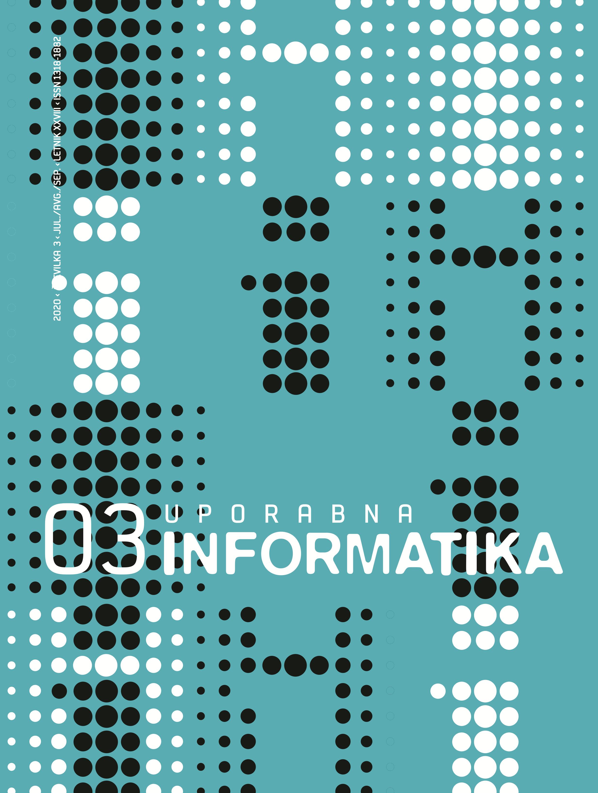Poglej Letn. 28 Št. 3 (2020): Uporabna informatika