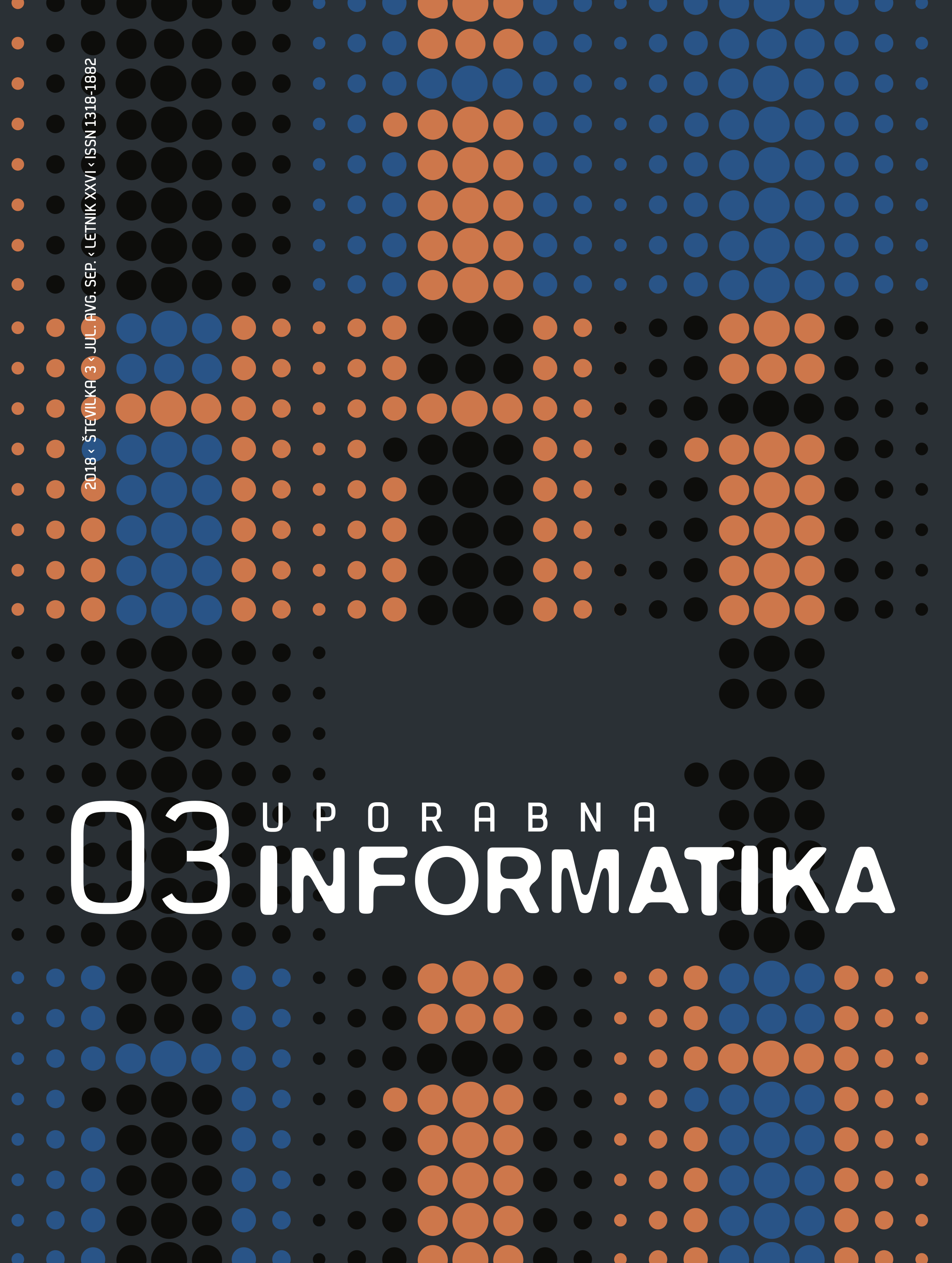 Poglej Letn. 26 Št. 3 (2018): Uporabna informatika