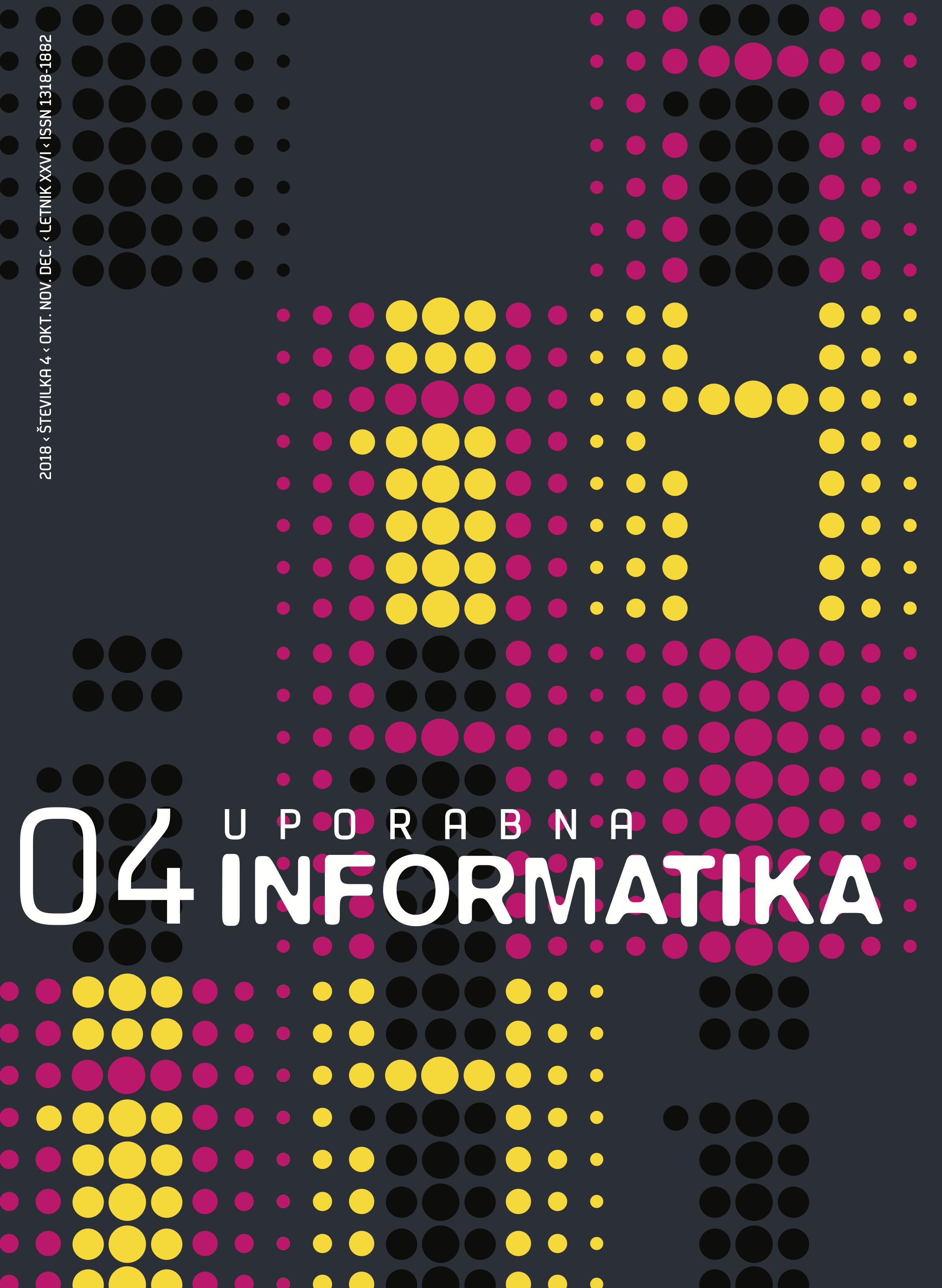 Poglej Letn. 26 Št. 4 (2018): Uporabna informatika