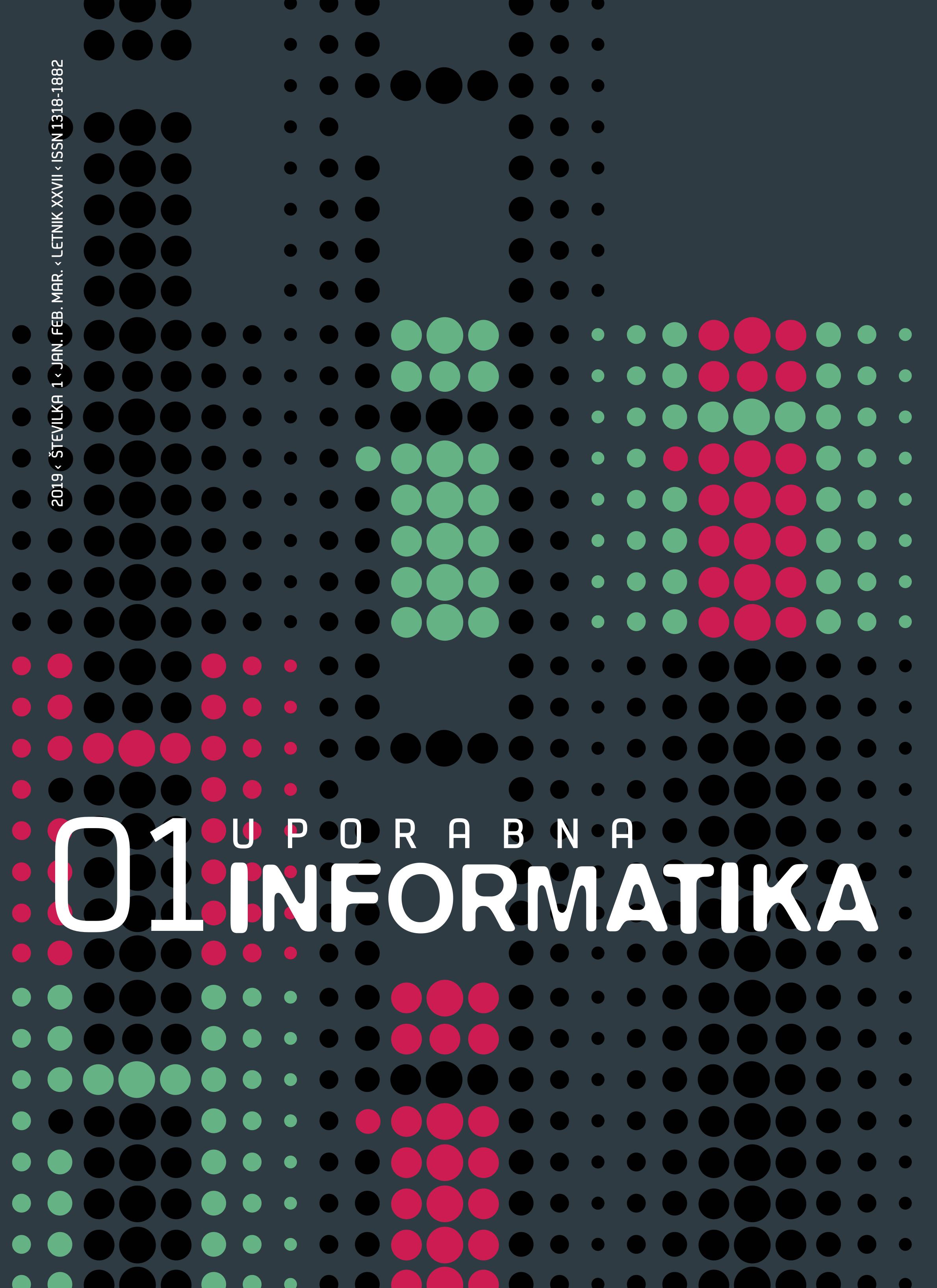 Poglej Letn. 27 Št. 1 (2019): Uporabna informatika