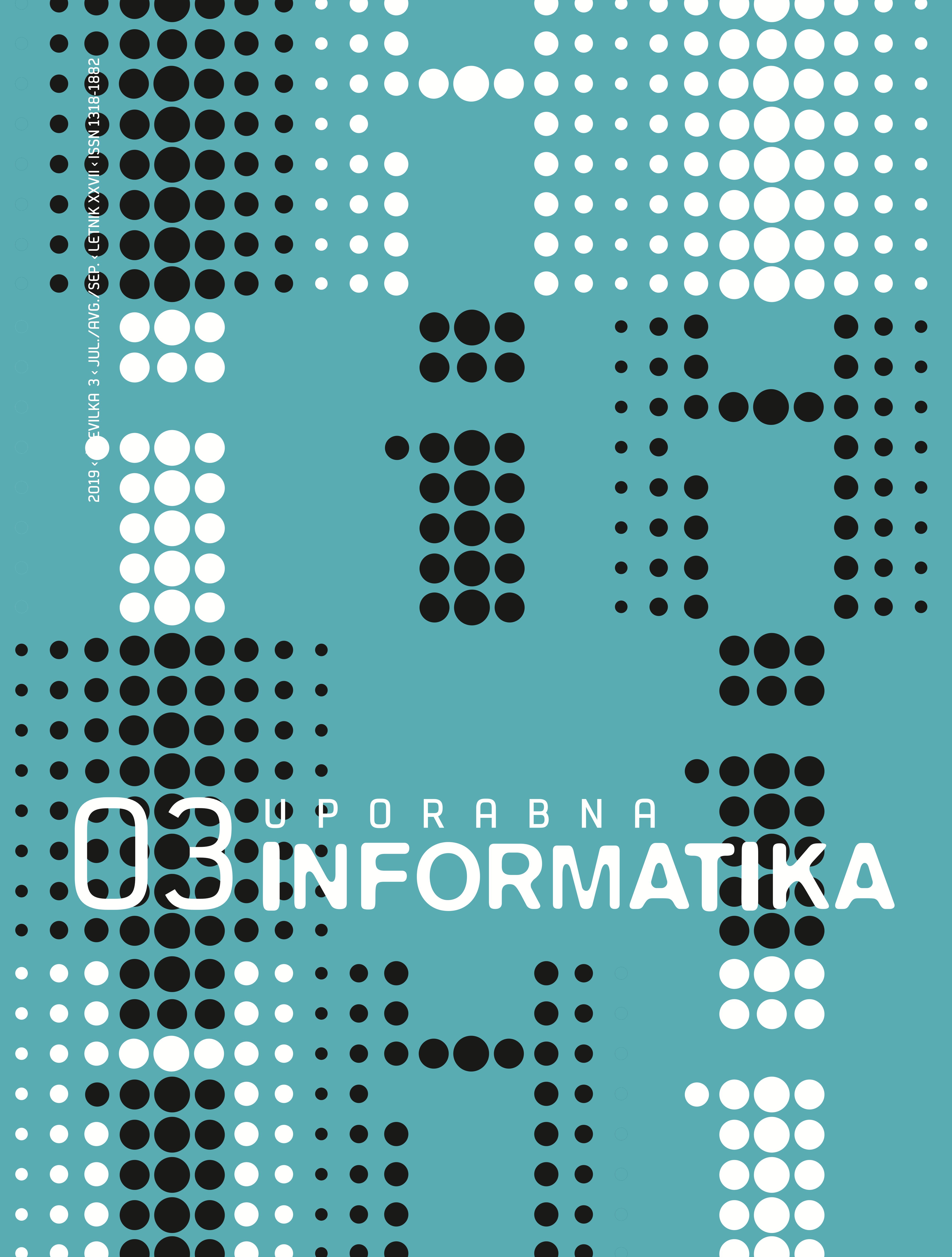 Poglej Letn. 27 Št. 3 (2019): Uporabna informatika
